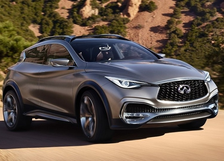 2015 Infiniti QX30 front view