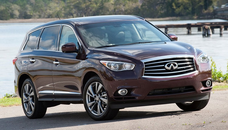 2015 Infiniti QX60 front view