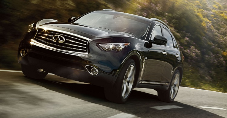 2015 Infiniti QX70 front view