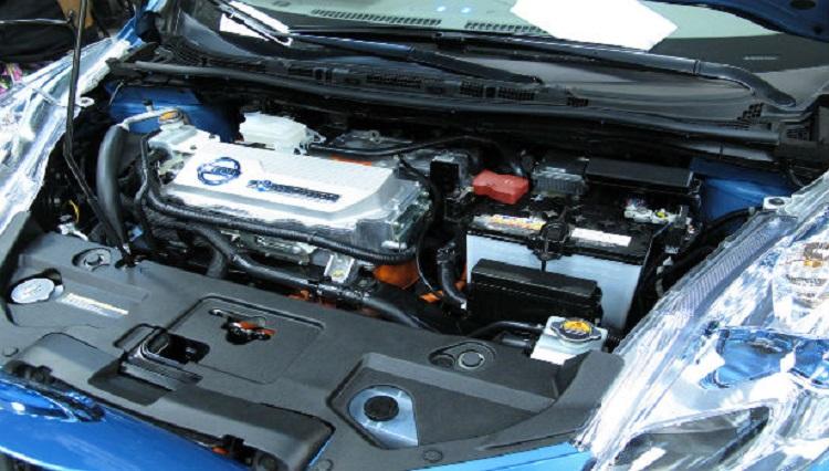 2015 Nissan Leaf engine