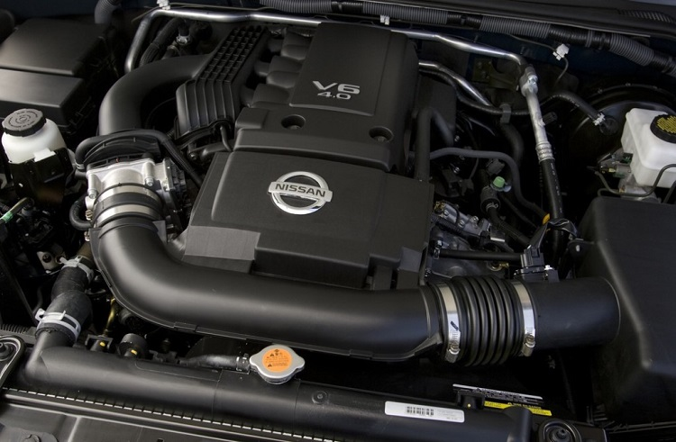 2015 Nissan Xterra engine