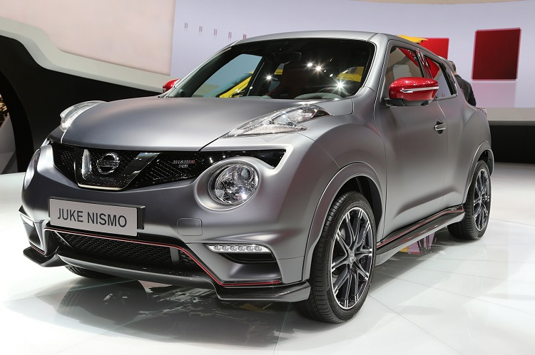 2015 nissan juke nismo front view