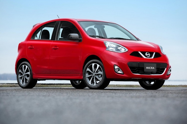 2015 nissan micra front view