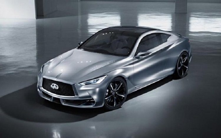 2016 Infiniti Q60 front view
