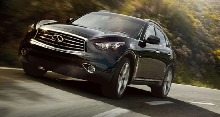 2016 Infiniti QX70 front view
