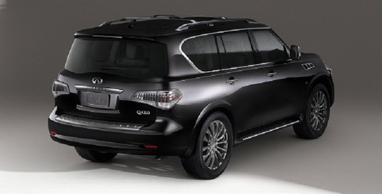 2016 Infiniti QX80 rear view