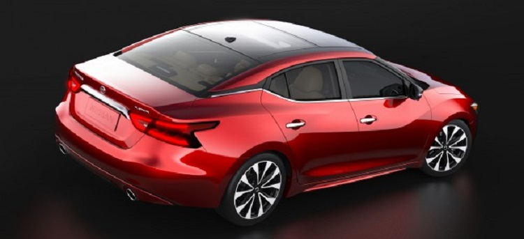 2016 Nissan Maxima rear view