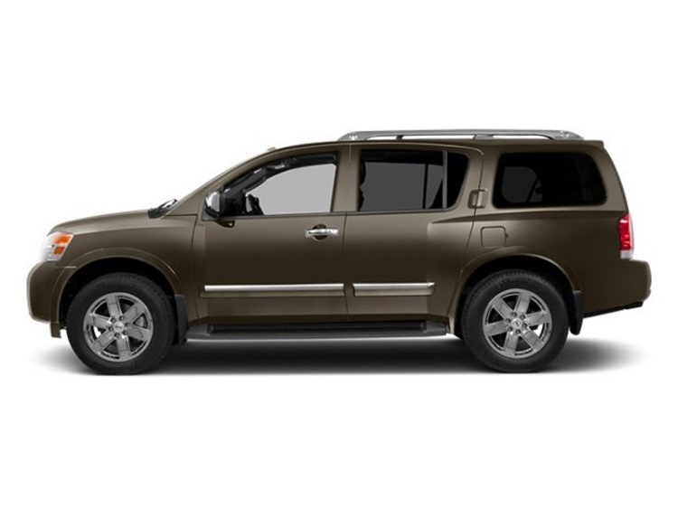 2016 nissan armada side view
