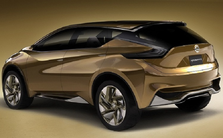 2016 Nissan Murano Rear View