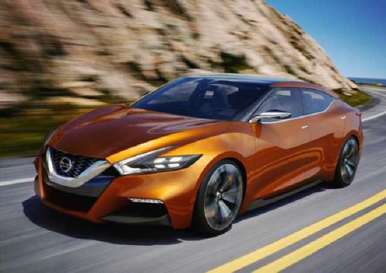 2017 Nissan Maxima front view