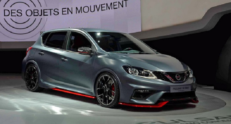 2015 Nissan Pulsar Nismo front view