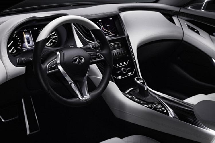2016 Infiniti Q60 Convertible interior