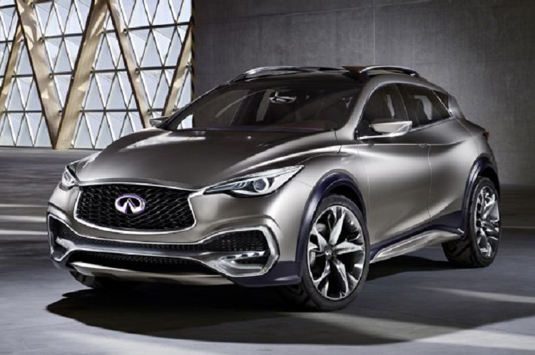 2016 infiniti qx30 concept price styling changes. Black Bedroom Furniture Sets. Home Design Ideas