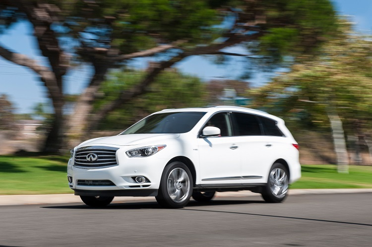 2016 Infiniti QX60 front view
