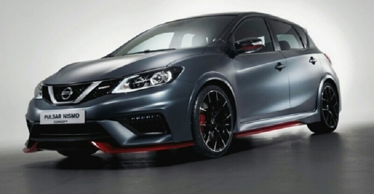 2016 Nissan Pulsar Nismo front view