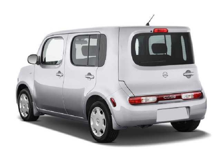 2016 nissan cube rear view