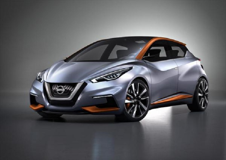 2016 nissan micra front view