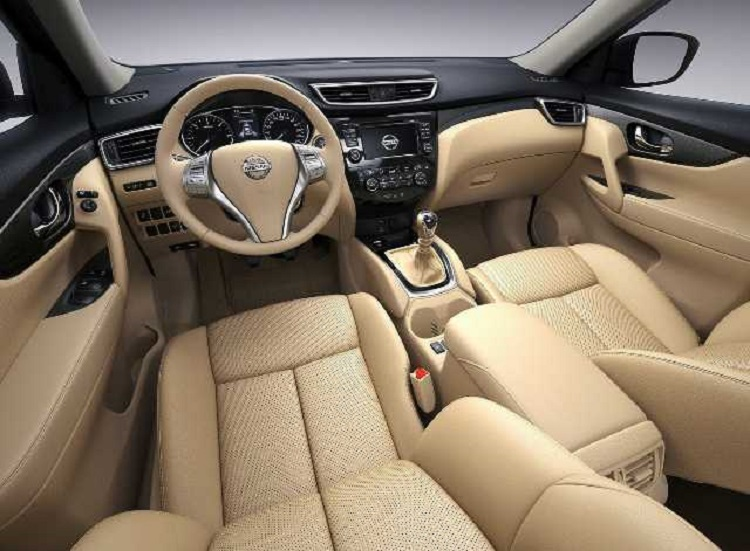 2016 nissan x trail interior