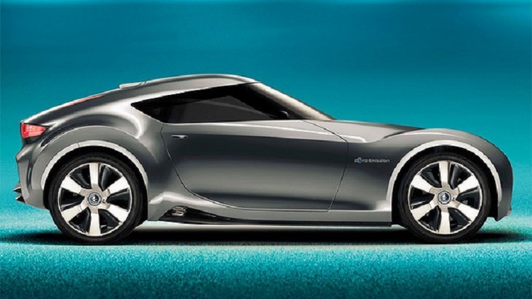2017 Nissan 370Z side view