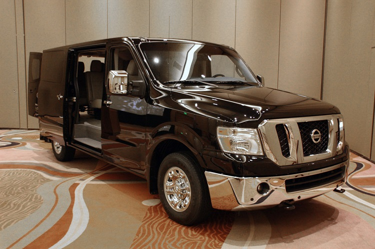 2015 nissan nv passenger review van gas mileage mpg. Black Bedroom Furniture Sets. Home Design Ideas