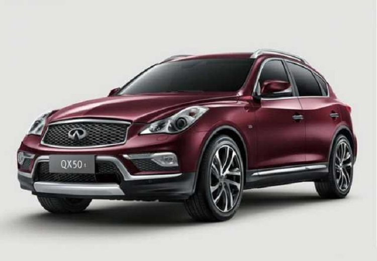 2017 Infiniti QX50 front view