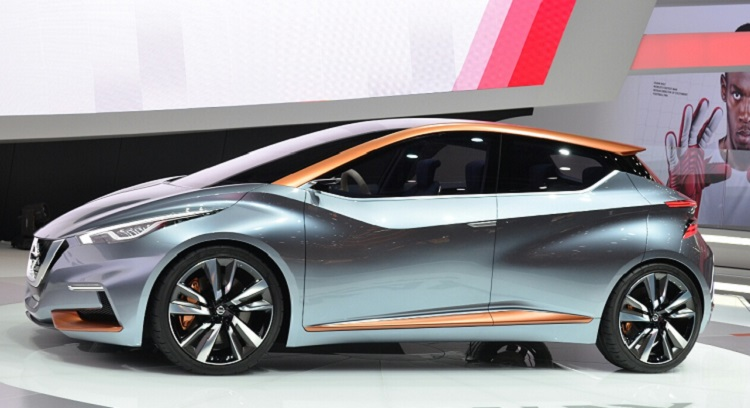 Nissan Sway Concept side view