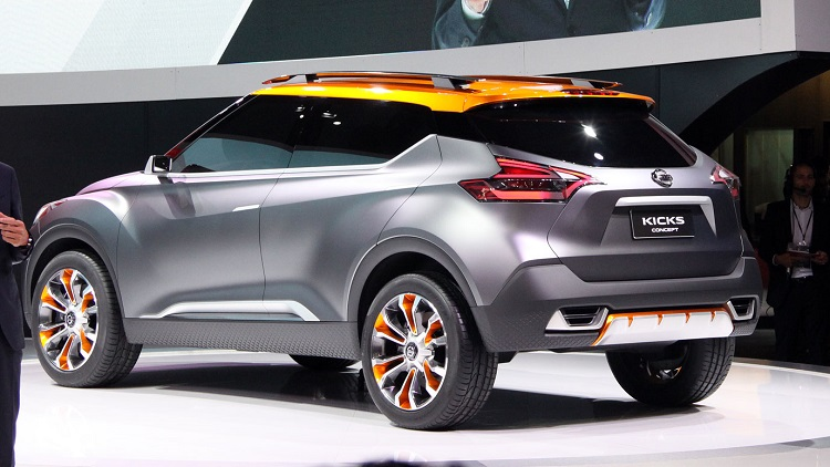 2018 nissan kicks usa. perfect 2018 nissan kicks rear view on 2018 usa