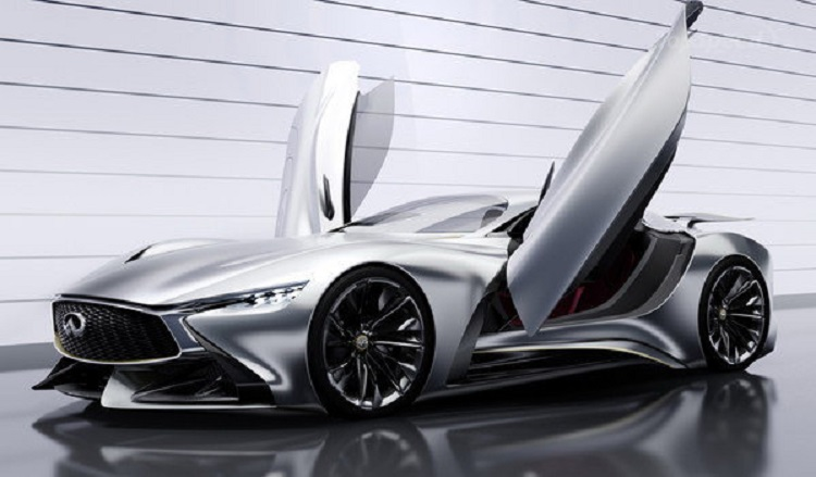 2018 infiniti supercar. unique supercar infiniti vision gt supercar concept front view for 2018
