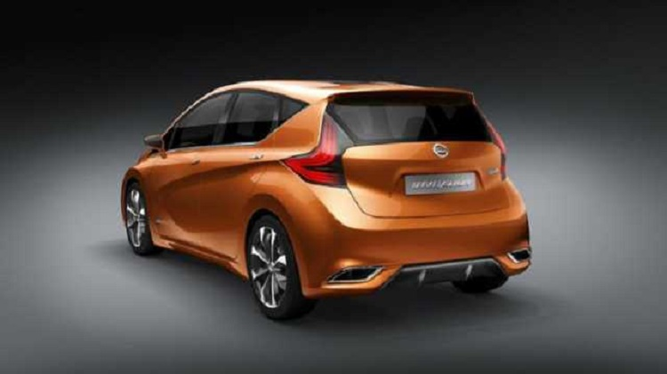 2017 Nissan Micra rear view