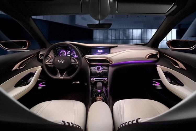 2017 Infiniti QX30 interior