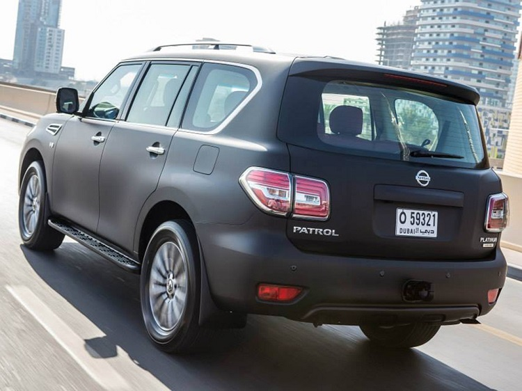 2017 Nissan Patrol rear view
