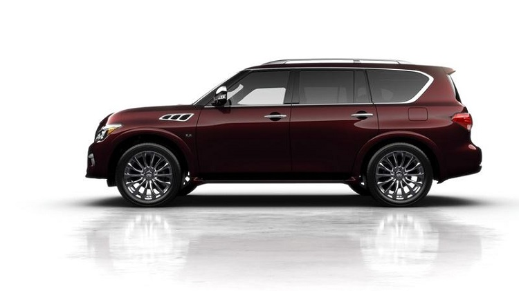 2018 Infiniti QX80 side view