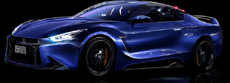 2018 Nissan Gt R Side View