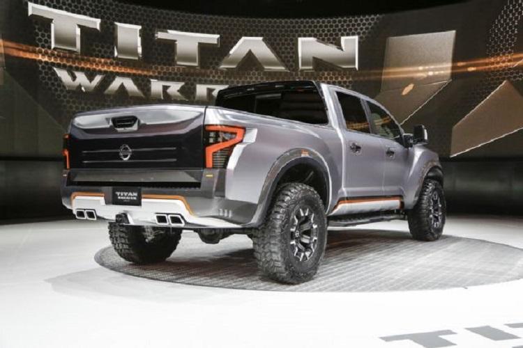 2017 Nissan Titan Warrior - specs, redesign, engine