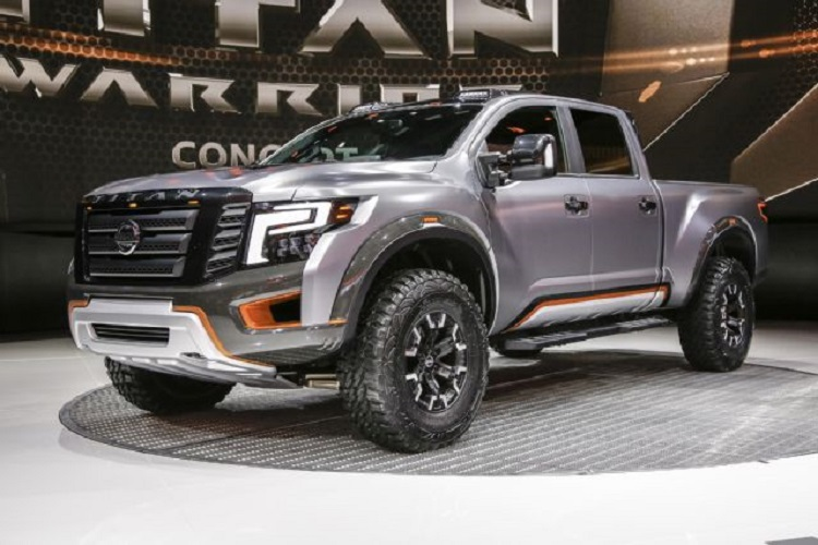 2017 nissan titan warrior specs redesign engine. Black Bedroom Furniture Sets. Home Design Ideas