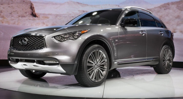 2017 Infiniti QX70 Limited - specs, interior, redesign ...
