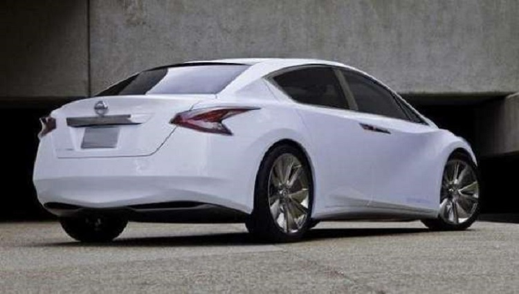2018 Nissan Altima rear view