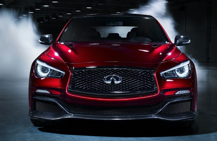 2018 Infiniti Q50 front view
