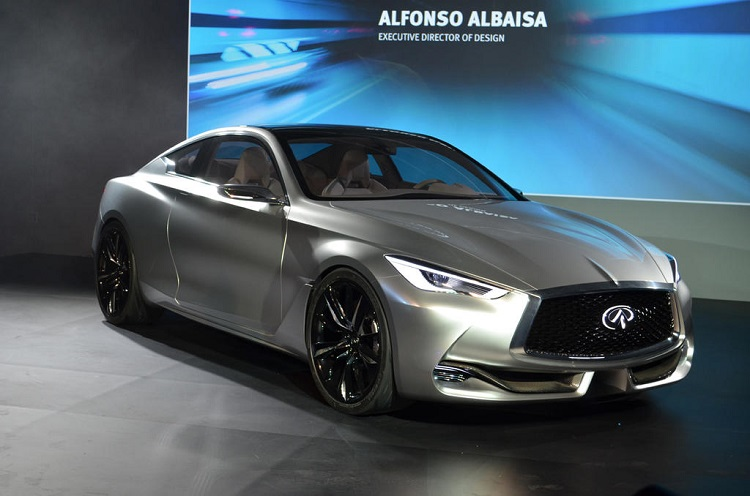2018 Infiniti Q60 front view
