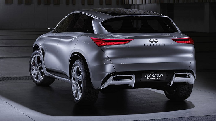 2018 infiniti qx70 redesign. perfect qx70 2018 infiniti qx70 rear view with infiniti qx70 redesign