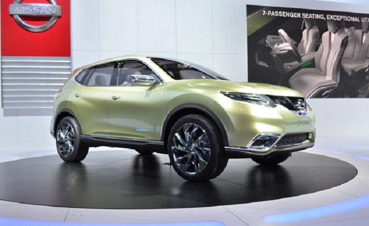 Nissan Hi-Cross concept front view