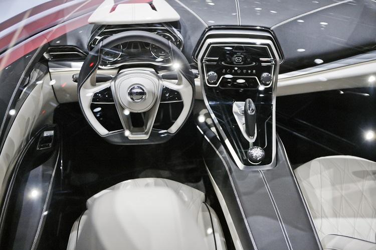 Nissan Sport Sedan interior
