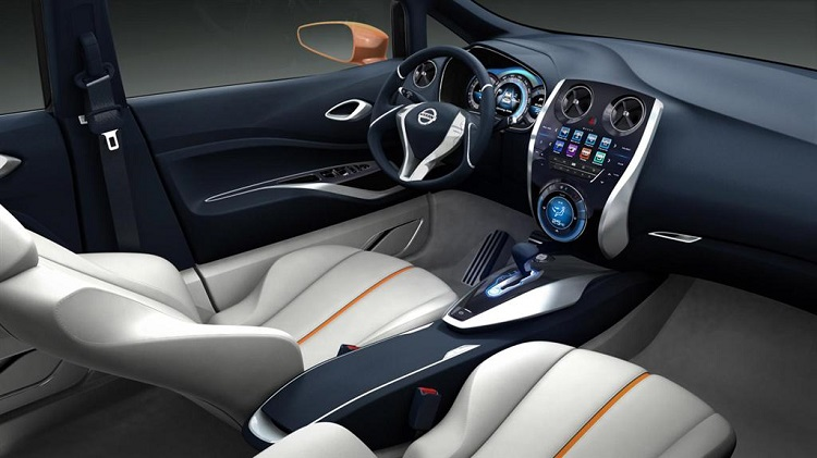 Nissan Invitation concept interior