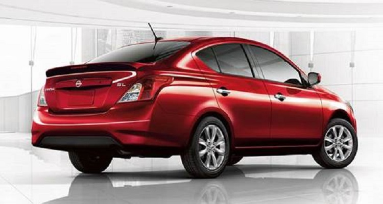 2018 nissan versa sedan. contemporary versa 2018 nissan versa rear view in nissan versa sedan a