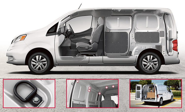 2017 Nissan NV200 interior