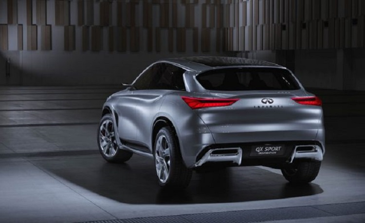 2018 Infiniti QX50 rear view
