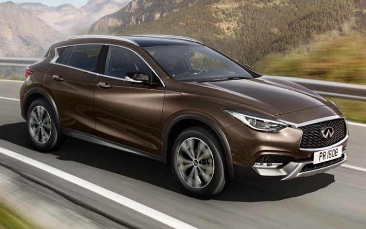 2019 Infiniti QX30 front view
