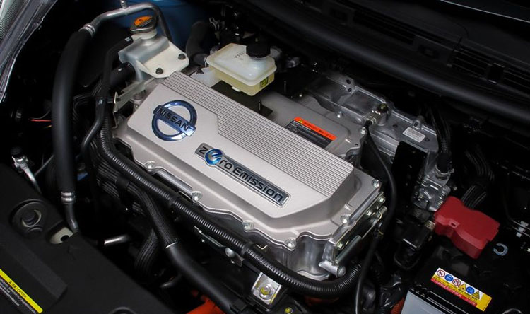 2017 Nissan e-NV200 engine