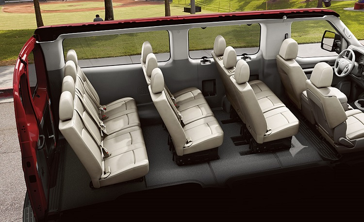 2018 Nissan Nv Penger Interior