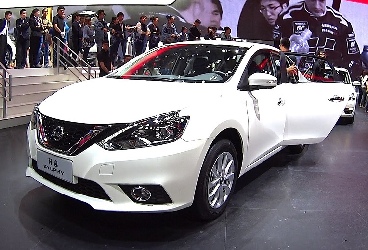2017 Nissan Sylphy front view